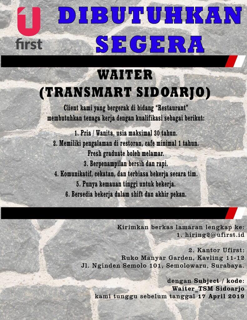 Lowongan Kerja Karesidenan Surabaya