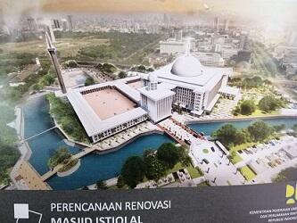 Pemerintah Akan Mempercantik Arsitektur Masjid Istiqlal