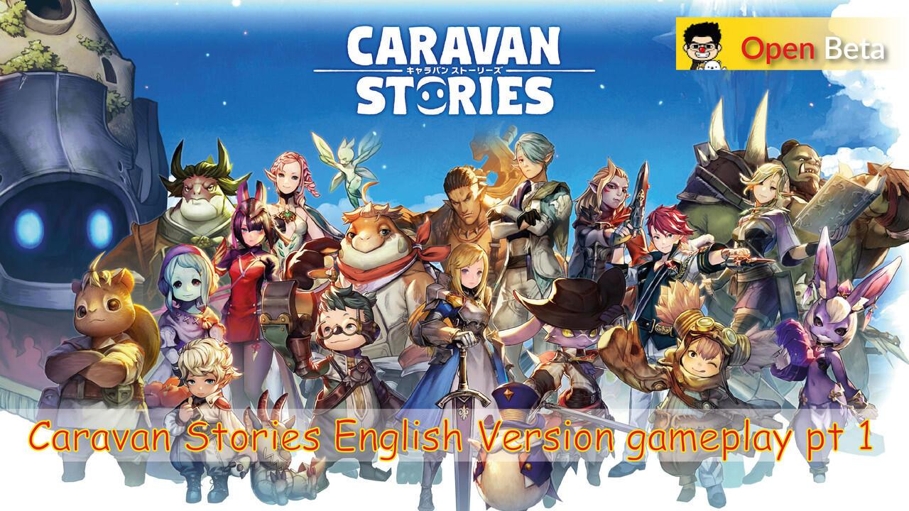 Caravan Stories PLAYSTATION 4 ENGLISH VERSION