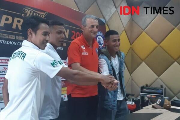 Pelatih Arema FC: Aremania Harus Jadi Tuan Rumah yang Baik