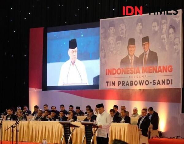 Hadir di Acara Prabowo, Gatot Nurmantyo Belum Konfirmasi Dukungan