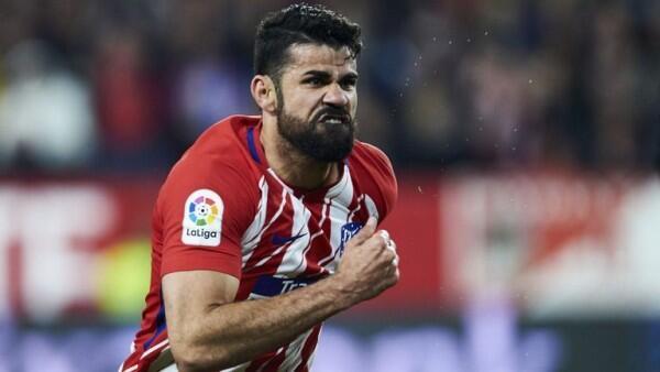 Resmi, Diego Costa Dijatuhkan Sanksi Larangan Bermain 8 Laga