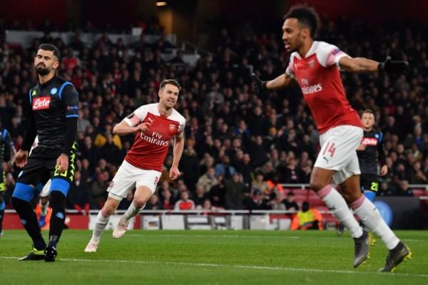 Gasak Napoli, Arsenal Satu Langkah Menuju Perempat Final Liga Eropa