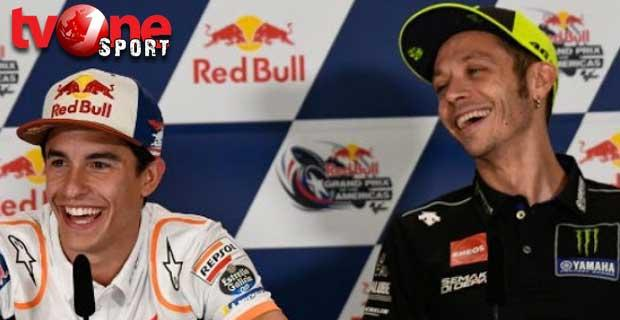 Marquez Sebut Salaman dengan Rossi Ibarat Cium Kekasih