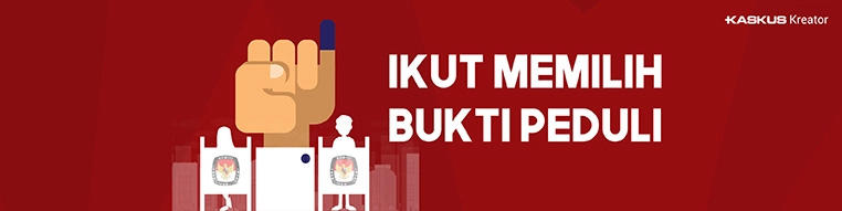 Meski Bukan Fans Jokowi atau Prabowo, Please Jangan Golput Yak!