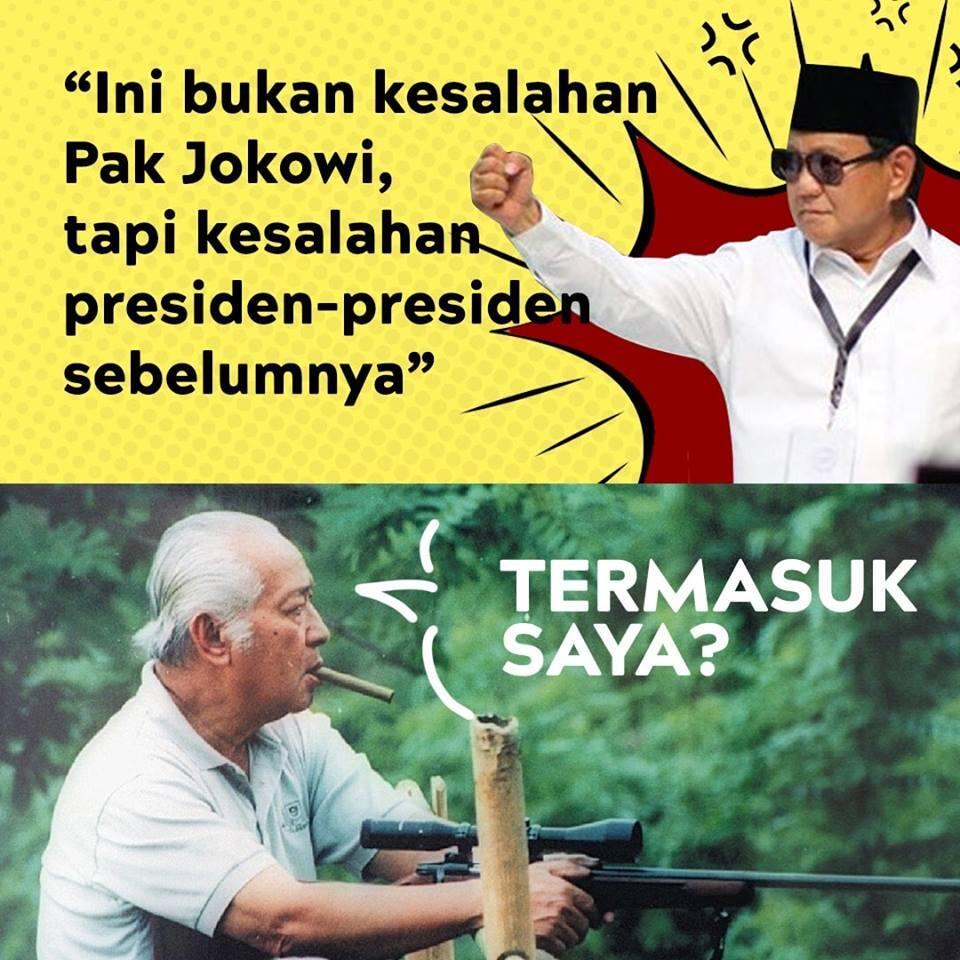 Prabowo Singgung Presiden Sebelumnya, Kader Demokrat Berteriak Keluar dari Koalisi