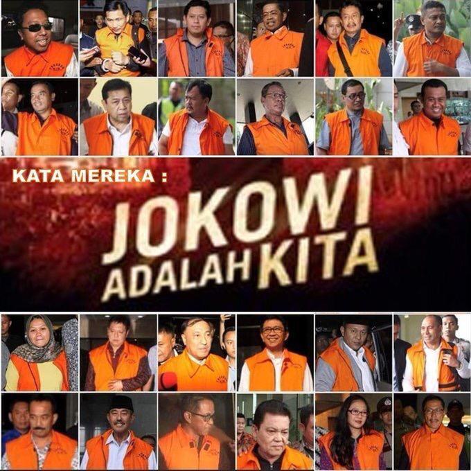 Menteri Jokowi Sumber Amplop Rp8 Miliar