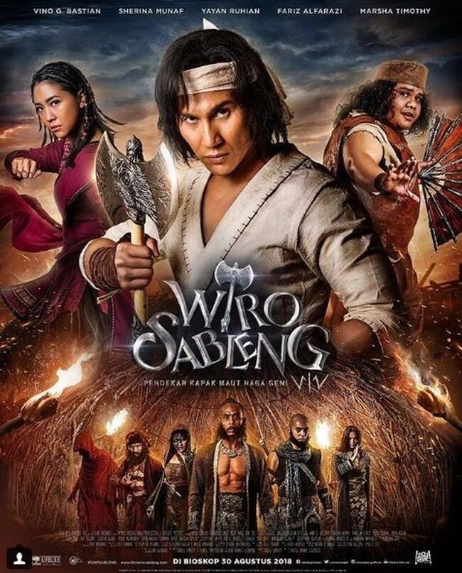 'Wiro Sableng' Bakal Tayang di Festival Film Italia 26 April