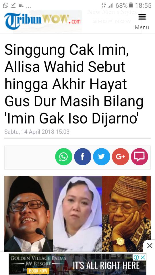 Prabowo Orang Paling Ikhlas, Jadi Ingat Gus Dur