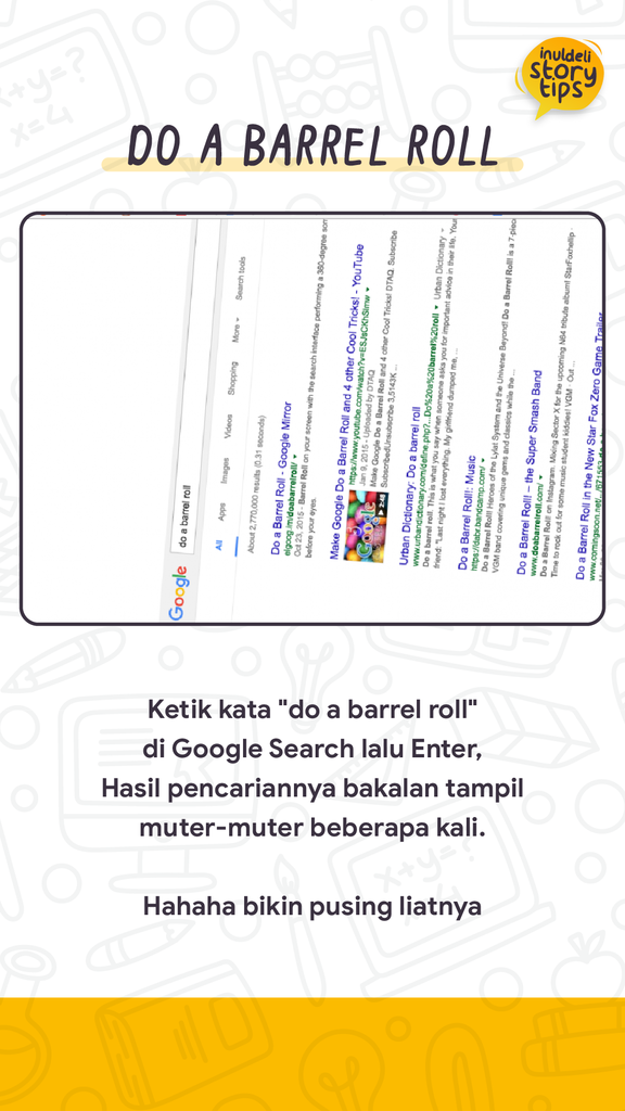 EASTER EGG DI GOOGLE SEARCH - INULDELI JOGJA
