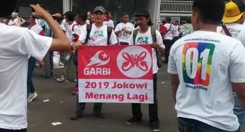 Ormas Mantan Presiden PKS Hadir di Kampanye Jokowi di Stadion GBK