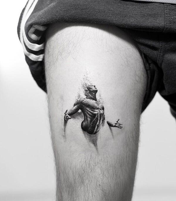 Keren, Tatto 3D Ini Super Realistis