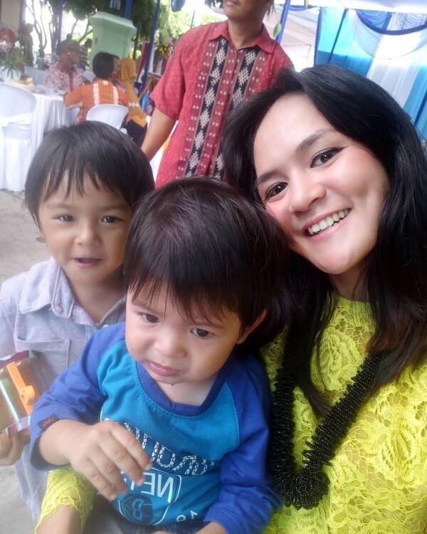 10 Potret Lucu Ketiga Anak Andika Kangen Band & Mantan Istrinya, Caca