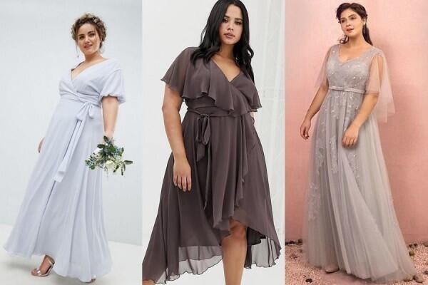 8 Inspirasi Model Gaun Bridesmaids untuk Pemilik Tubuh Berisi
