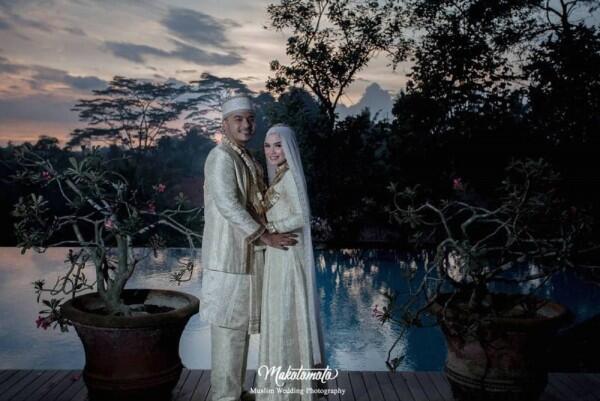 10 Momen Haru & Sakral Pernikahan Rifqa Malsyita, Adik Zaskia Mecca