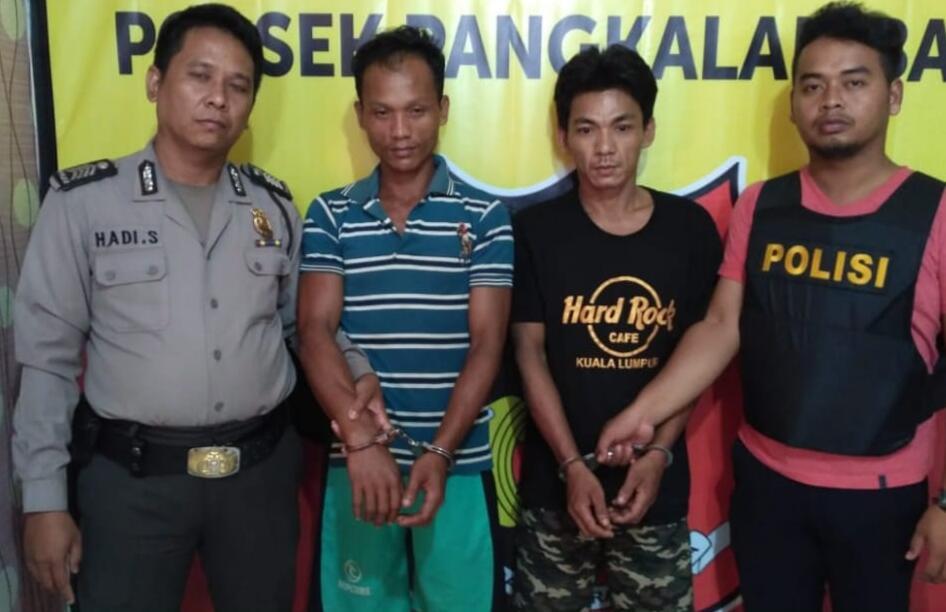 Curug Karet, Tiga Pelaku di Amankan Polsek Pangkalan Balai