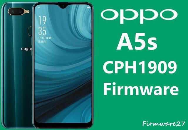 Firmware Oppo A5s CPH1909 ofp File Mediatek