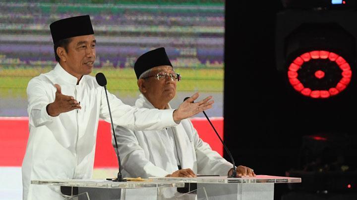 Soal Prabowo Salahkan Presiden Sebelumnya, Jokowi Hanya Tertawa