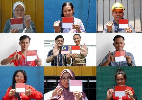 TPS di Kuala Lumpur Cuma Dibuka 3, WNI Menumpuk dan Sebagian Pingsan