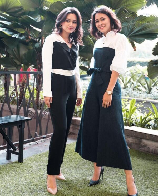 10 Potret Kompak Twinda dan Twindy, Saudara Kembar Sesama Publik Figur