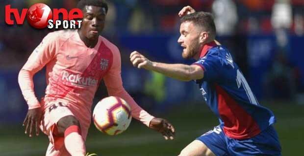 Fokus Lawan MU, Barca Gagal Kalahkan Huesca