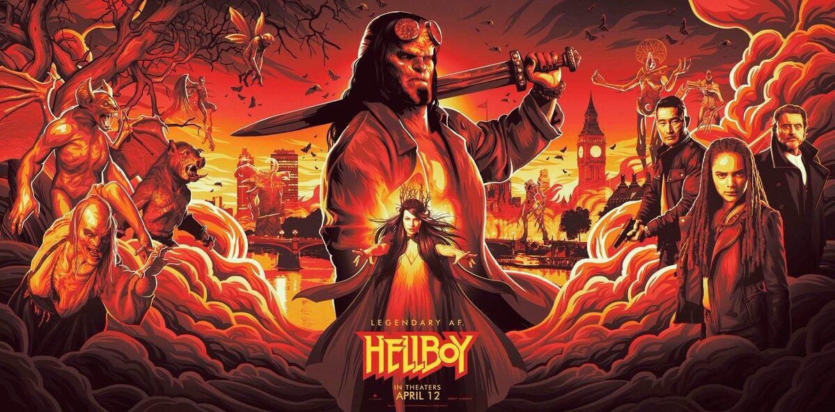 HELLBOY (2019), Kembali Ksatria Setengah Iblis Dari Neraka Yang Telah Lama Vakum.