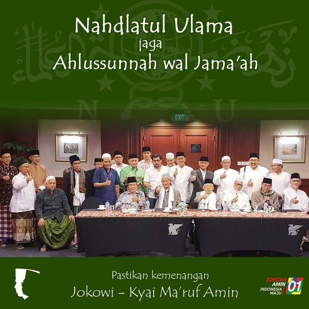 Alumni Ponpes di Jatim Dukung Jokowi Demi Ahlussunnah Wal Jamaah