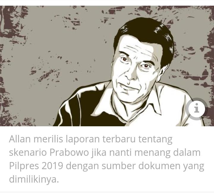 Allan Nairn Rilis Skenario Prabowo Lemahkan HTI dan PKS di Blognya