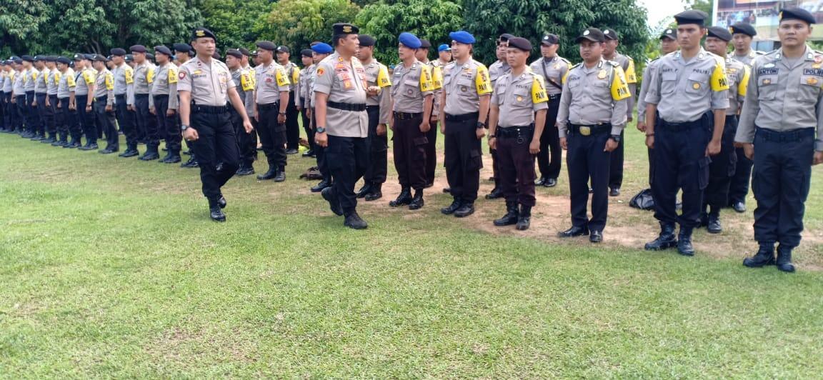Pengaman TPS di Banyuasin, Ratusan Polisi di Kerahkan