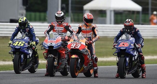 Batal Juara di Austin, Valentino Salip Marquez di Klasemen MotoGP