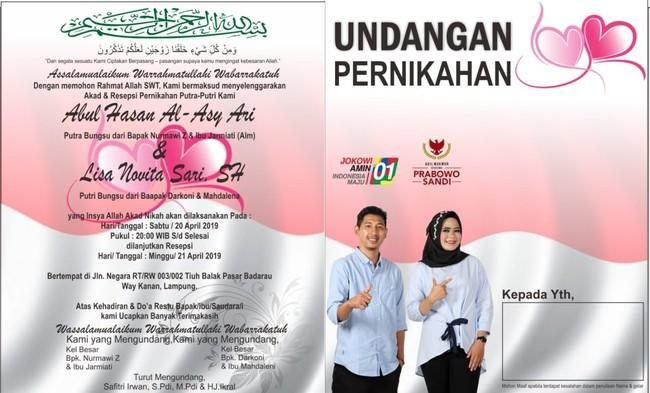 Akur! Pendukung Prabowo dan Jokowi Putuskan Menikah
