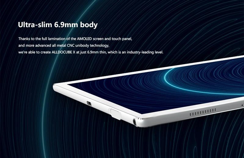 "HANDS ON: ALLDOCUBE X 10.5"" 2K DISPLAY Super AMOLED Tablet PC Dengan Fingerprint"