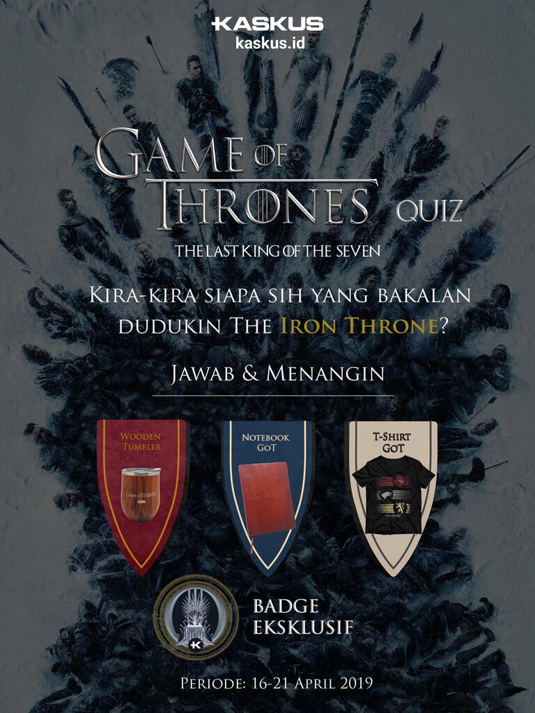 Mau Tampil Ala Westeros? Fans Game of Thrones Masuk!