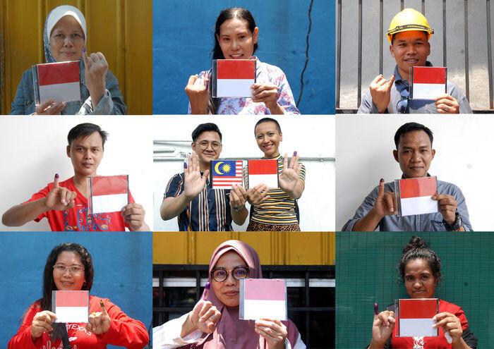Rupa-rupa peristiwa Pemilu di luar negeri