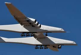 Stratolaunch, Pesawat Terbesar Didunia Dan Bisa Bawa Beban 589 Ton Ke Luar Angkasa