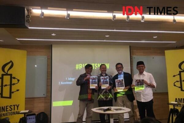 9 Agenda HAM Amnesty untuk Capres, Salah Satunya Soal LGBT