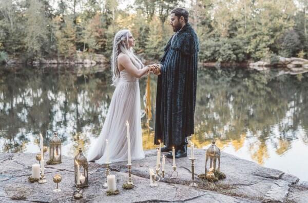 Inspiratif, 10 Ide Dekorasi Pernikahan Bertema Game of Thrones