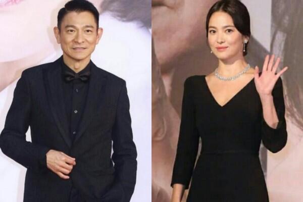 Ketemu Andy Lau, 10 Potret Song Hye Gyo di Acara Hong Kong Film Awards