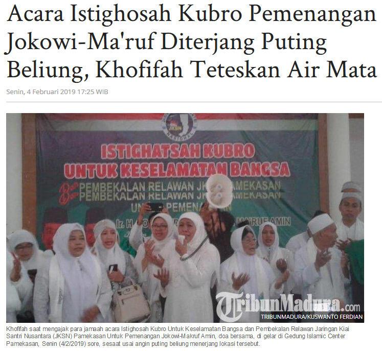 Petir Menggelegar Setelah Presiden Indonesia Masuk ke Kabah