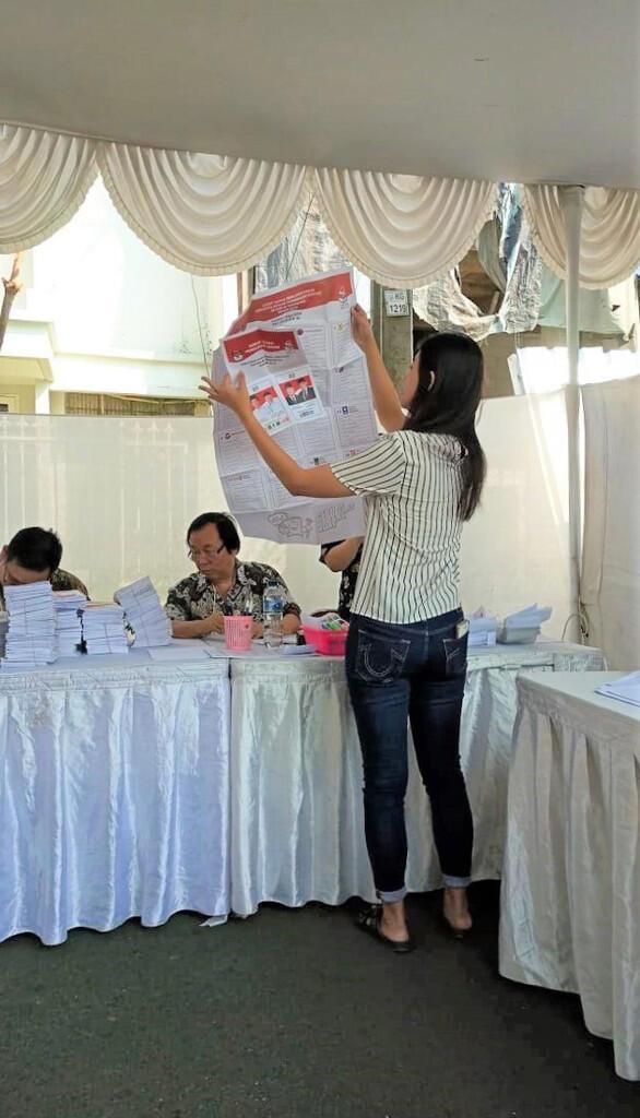 Pemilu 2019 TPS 109 Jakarta Pusat