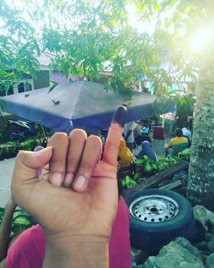 Jokowi-Ma'ruf Unggul di Kampung Ane