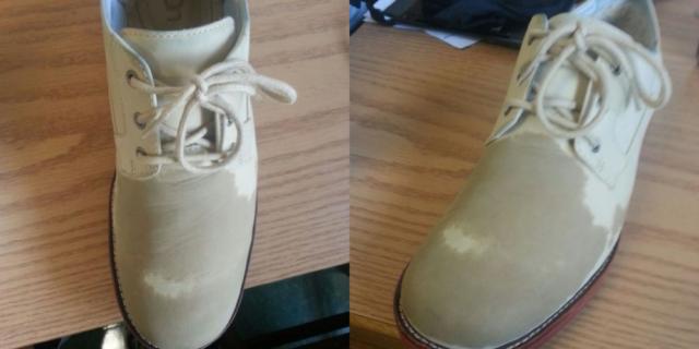 Cara Gampang Hilangkan Kerutan Pada Sepatu, Cobain deh Gan!
