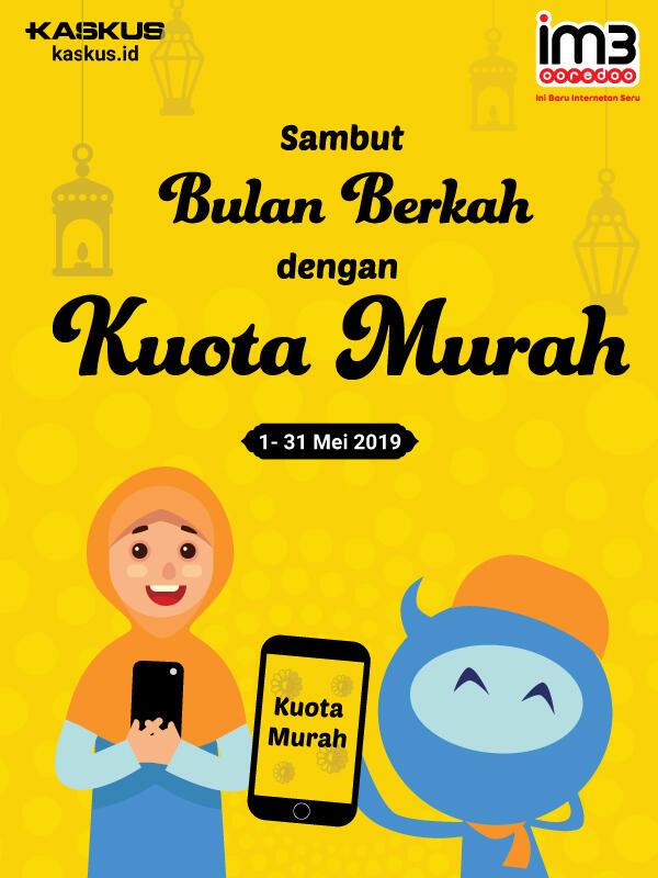 Bingung Menyambut Bulan Ramadhan? Ayo Sambut Bulan Berkah dengan Kuota Murah!