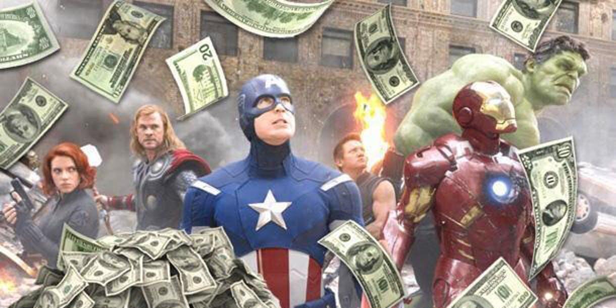 Besaran uang yang di keluarkan Marvel, untuk membayar 6 superhero Avengers ini