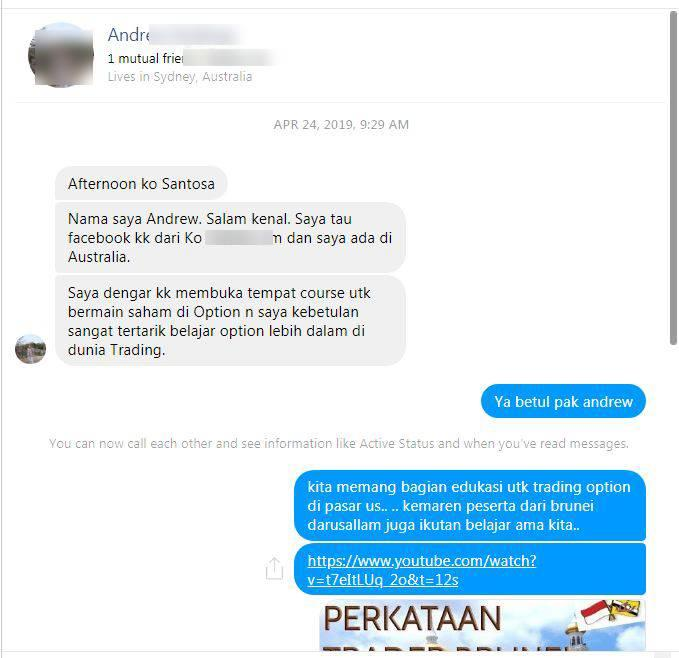 [JAKARTA] 6July19 Workshop OPTION Trading sampai bisa trading mandiri !!