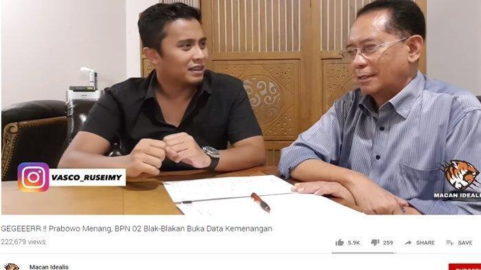 Otak di Balik Klaim Kemenangan Prabowo 62% Terungkap, Sebut Sistemnya Tercanggih