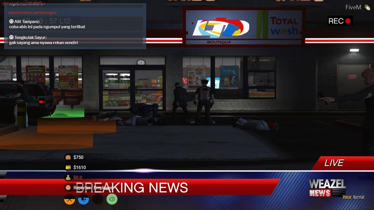 GTA:V RolePlay || Revolution Server || Serious RP || FiveM