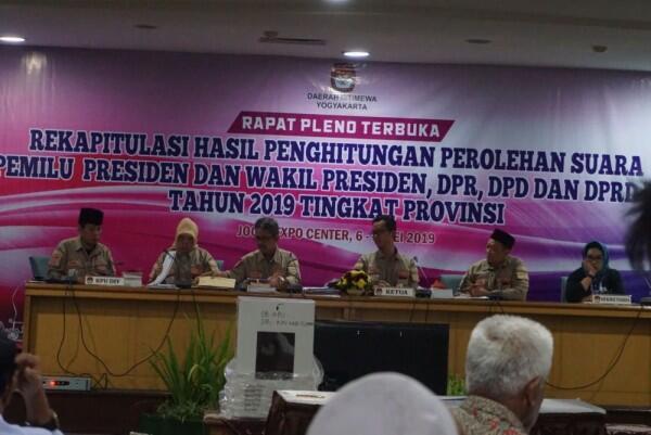 Sah, Jokowi-Ma'ruf Kuasai DIY, Lampaui Perolehan di 2014