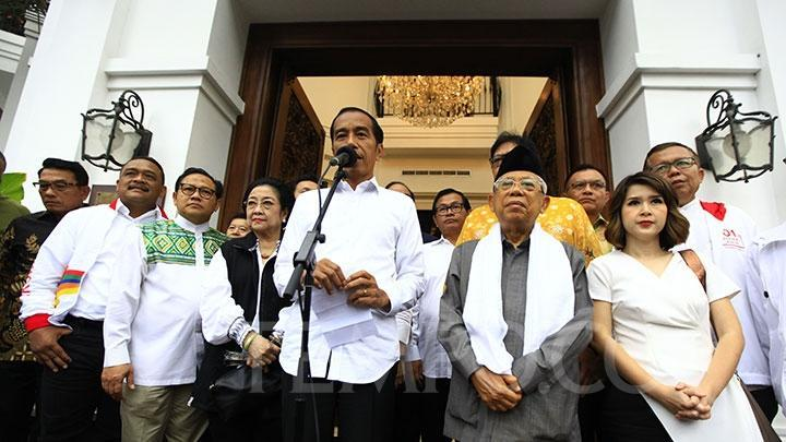 Sikap Koalisi Jokowi Terbelah Soal Peluang Demokrat - PAN Gabung