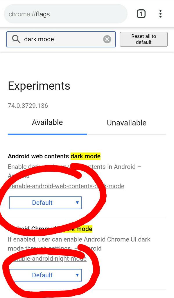 Trik Membuat Dark Mode Pada Browser Chrome Android